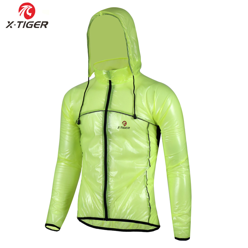 X-TIGER Waterproof Cycling Jersey Rain Cycling Coat Windproof Mountain Bicycle Clothing Cycling Jacket MTB Bike Cycle Raincoat