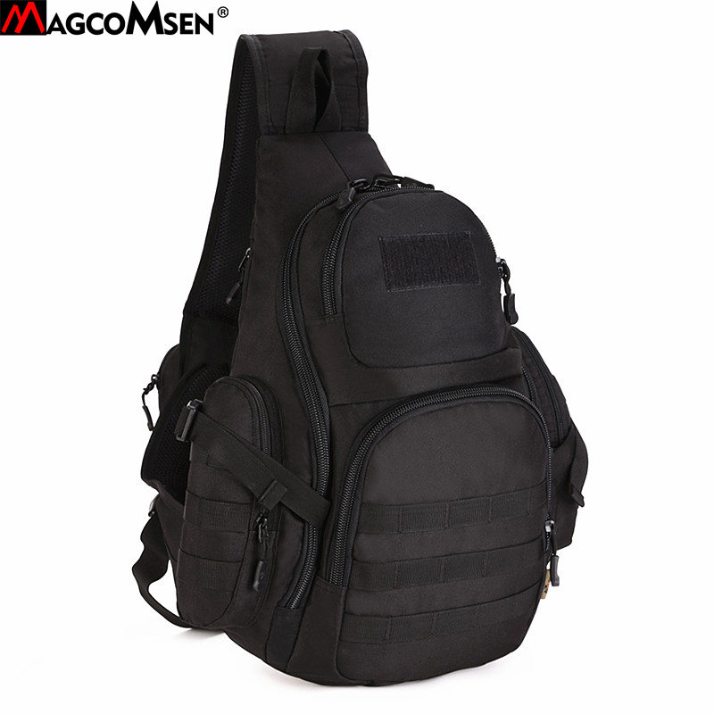 MAGCOMSEN Military Backpack Men Nylon Waterproof One Sling Shoulder Bag Molle Airsoft Paintball Crossbody Bags Man