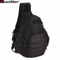 MAGCOMSEN Military Backpack Men Nylon Waterproof One Sling Shoulder Bag Molle Airsoft Paintball Crossbody Bags Man AG SHZ 04
