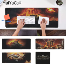 MaiYaCa Funny New World of Tanks Game  Natural Rubber Gaming mousepad Desk Mat PC Computer