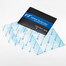 Package Tattoo-Film Defender EZ Protective-Shield Derm Clear 5-Sheets Adhesive Aftercare