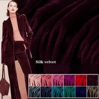 Europe and the United States imports of velvet fabric silk velvet fabric velvet dress fabric free shipping