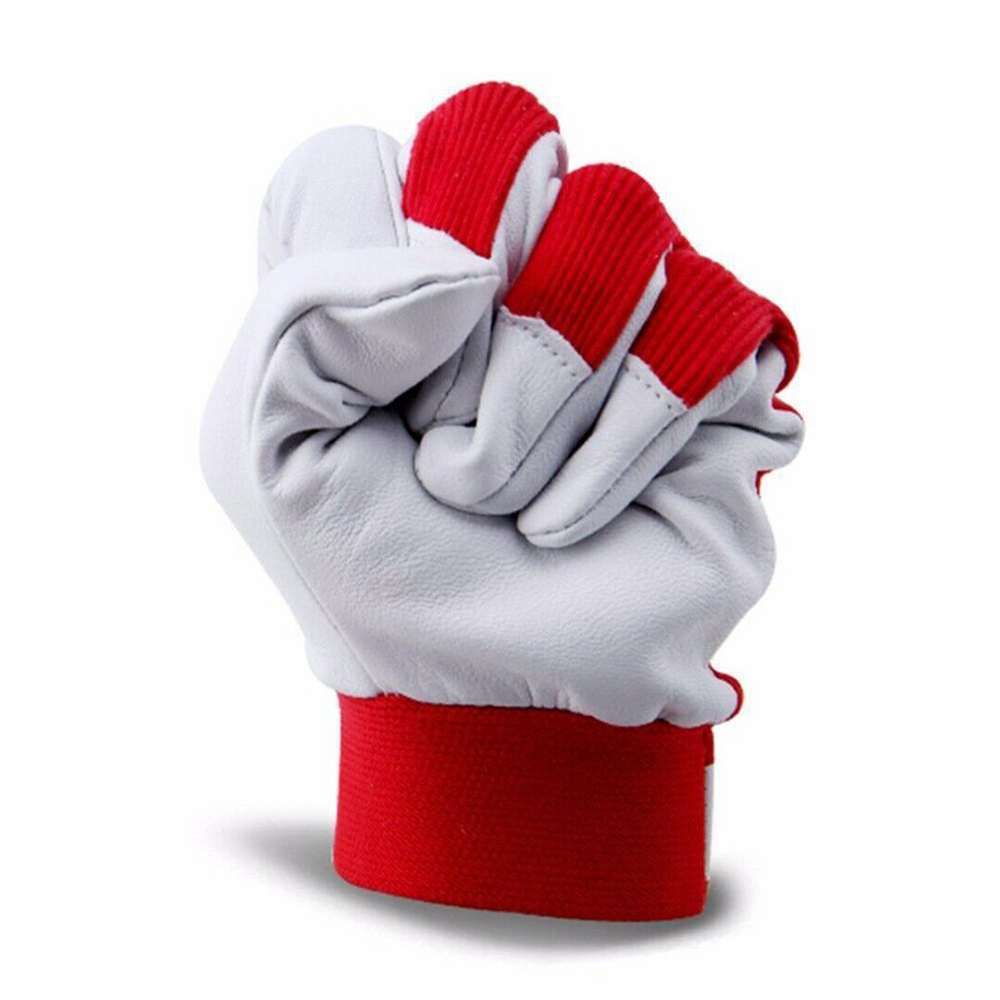 Summer Unisex Gloves Breathable Hands Protector Anti-static Elastic Cloth Leather Workers Men Women White Solid Color Daily