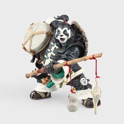 Pacote Original WOW dc8 Pandaren brewmaster Chen Stormstout Figura de Ação anime figuras brinquedos modelo