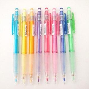 Image 5 - טייס HCR 197 Eno 0.7mm מכאני עיפרון עם 8 צבעים סט עופרת עפרונות 0.7 Mm עופרת עבור משרד & בית ספר אספקת מכתבים