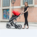 Baby stroller ultra light Hot-selling super suspension stroller carrier pram buggy jogger handcart, ultralight baby stroller