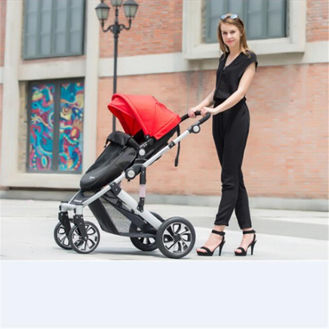 Carrinho de bebê luz ultra Hot-selling super suspensão transportadora carrinho de criança carrinho de bebê buggy jogger carrinhos de mão, ultraleves carrinho de bebê