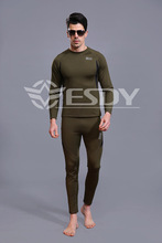 tactical S ports thermal underwear Fleece warm clothing   Zhuarong Yi