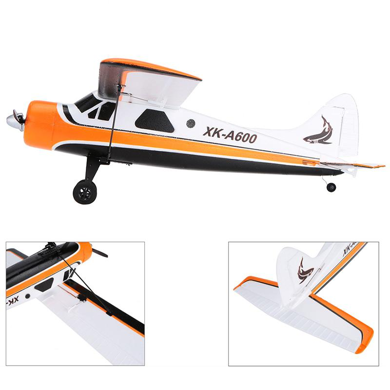 LeadingStar XK A600 XK-A600 5CH 2.4G Brushless Motor 3D6G RC Airplane original xk dhc 2 a600 2 4ghz 6ch transmitter for xk a600 a700 a430 rc airplane drone