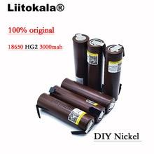 Batería original HG2 de 2020 mAh para cigarrillo electrónico, Pila de 18650 mAh HG2 de descarga de 3000 V de 18650 V, dedicado a baterías de cigarrillo electrónico + Nicke DIY, 3,6, 8 Uds. 100%