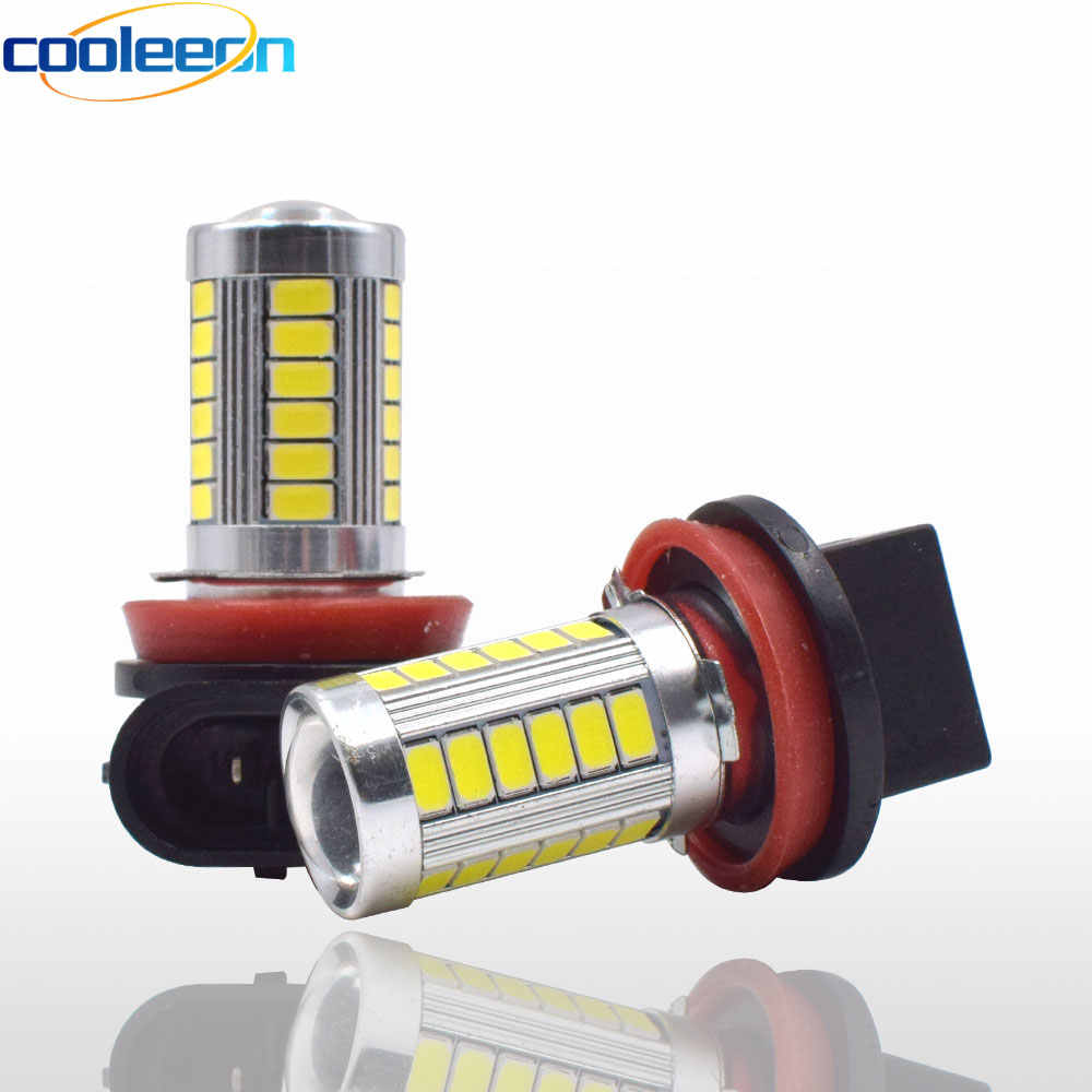 LED Car Fog Lamp Signal Light H4 H7 H8 H11 9005 9006 5630 SMD Automotive Lighting for 12V Cars Motorcycle Bulb 6000K Cold White