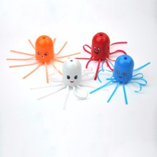 5pcs/LOT Magic Dancing Jellyfish Funny Toy Rotating & Up-Down Moving In Bottle Science Educational Toys For Kids In Random Color