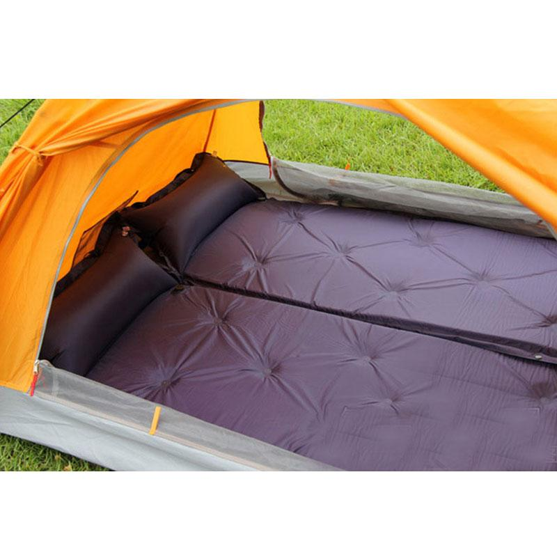 ФОТО 183*57*3CM Camping Mat Automatic Inflatable Matress Portable with Sleeping Pillow for Picnic Camping outdoor