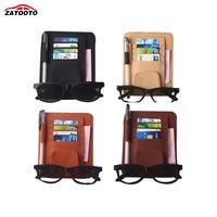 Auto Car Sun Visor Organizer Pouch Bag Card Storage Glasses Holder Multi-Purpose Storage Bag Car Organizer Car Styling
