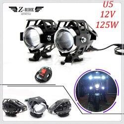 Uniwersalny 12 V motocykl metalowe reflektor reflektor jazdy reflektor przeciwmgielne światło do BMW R1200ST S1000 S1000XR S1000 RR XR 1000XR -
