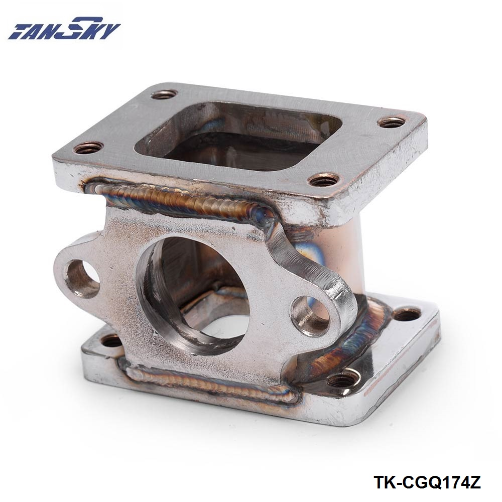 <font><b>T25</b></font> zu <font><b>T25</b></font>, T2 zu T2 3 edelstahl 304 <font><b>Turbo</b></font> <font><b>Manifold</b></font> Adapter + 38 MM Wastegate Flansch Outle TK-CGQ174Z image