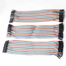 120pcs 20cm jumper wire Dupont cable for Arduino