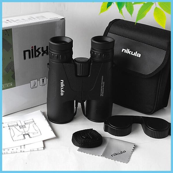 NIKULA 8x42mm Binoculars Birdwatching Hunting Waterproof Bak4 Fogproof Binoculars Telescope  цена и фото