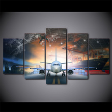 TOP Framed 5 Pieces/set Movie Poster Series Wall Art For Decor Home Decoration Picture Paint on Canvas/FREE ART-Five-5