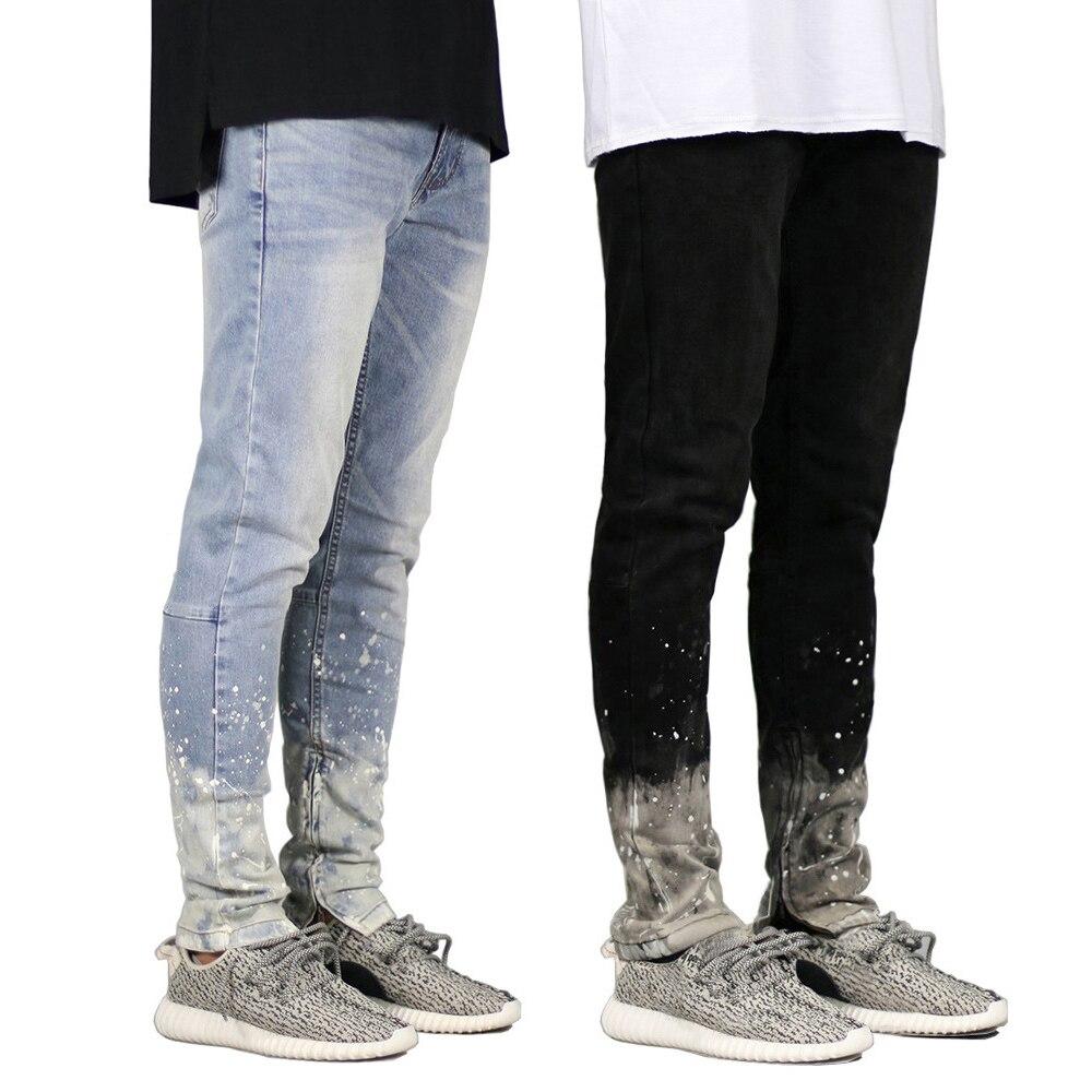 2018 Design Riss Männer Jeans Hip Hop Dünne Jeans Für Männer H8712