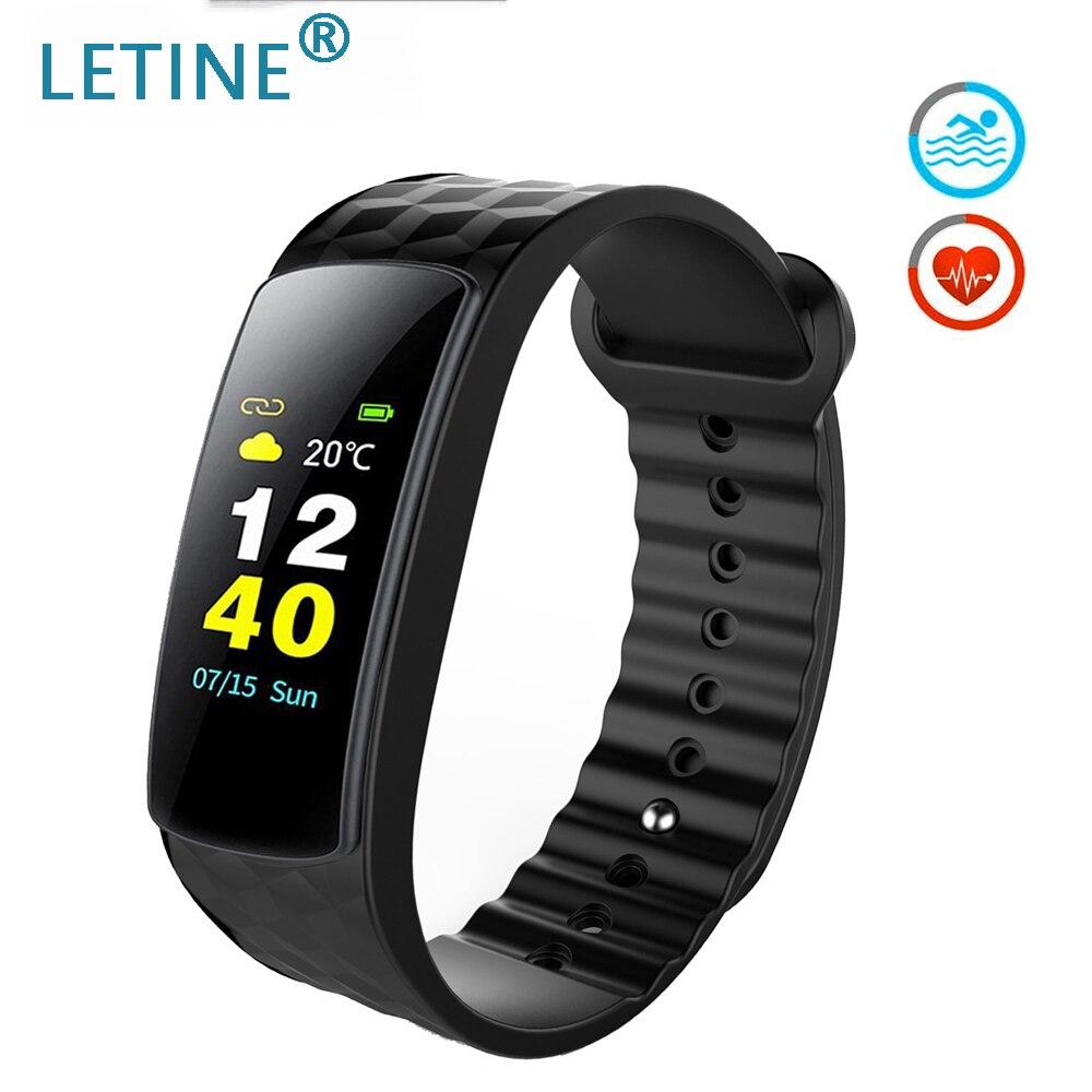 I6 HR C Smart Wristband Bracelet Fitness 0.96 inches Color LCD Smart Bracelet Band Heart Rate Monitor Sport Fitness Tracker