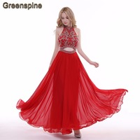 Real Photo Sexy Mermaid Crystals Evening Dresses 2017 Withe Beaded Formal Dresses Long Vestido De Festa