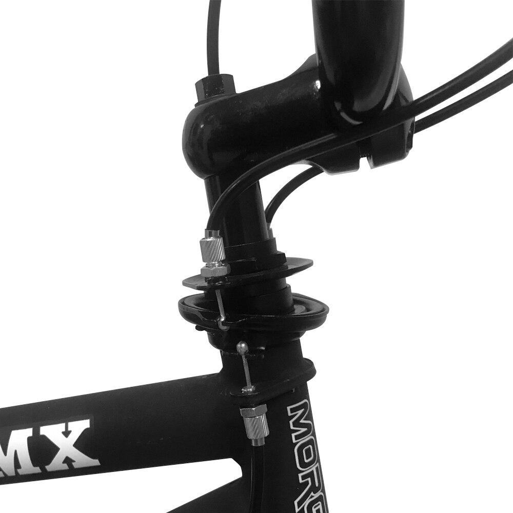 HILAND 10 Color&Series 20'' BMX Bike Freestyle Steel Bicycle Bike Double Caliper Brake Show Bike Stunt Acrobatic Bike 2