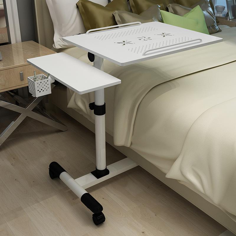 Furniture Special Section Lifting Mobile Computer Desk Bedside Sofa Bed Notebook Desktop Stand Table Learning Desk Folding Laptop Table Adjustable Table Laptop Desks