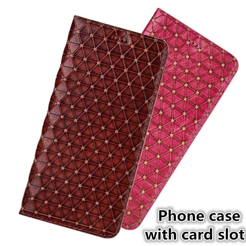 "Analytisch Cj04 Echtem Leder Telefon Fall Stehen Coque Für Sony Xperia L3 (5,8 "") Telefon Tasche Für Sony Xperia L3 Flip Fall Mit Card Slot"