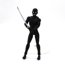 Anime dos desenhos animados detetive conan verdadeiro criminoso figma SP-089 pvc figura de ação collectible modelo brinquedo 13cm