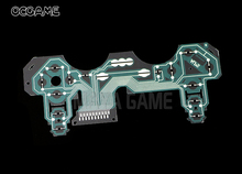 10 قطعة/الوحدة تحكم موصل فيلم إجراء فيلم لوحة المفاتيح الكابلات المرنة ل PS3 تحكم SA1Q194A