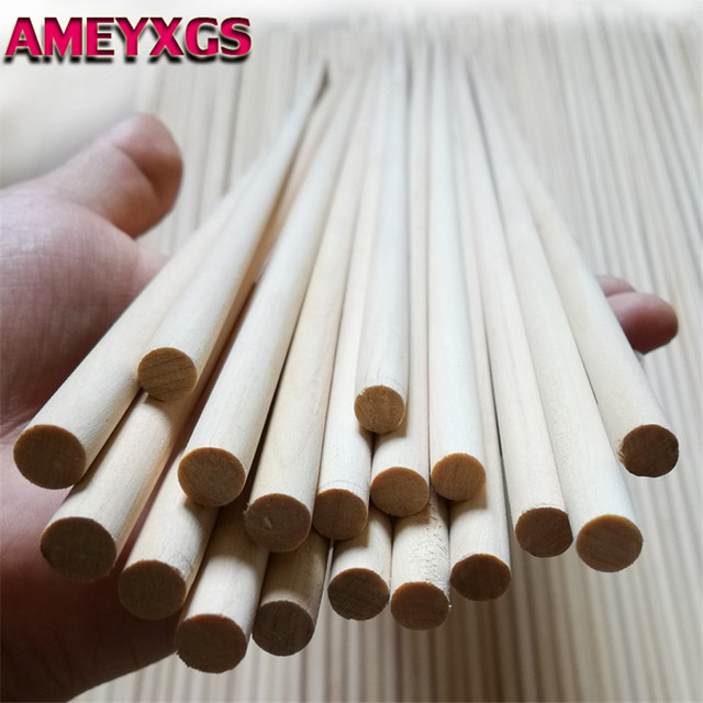 12/24Pcs 80cm Archery Wood Arrows Shafts Bow DIY Tools Handmade Wooden Diameter 8mm Arrow Shaft For Hunting Shooting Accessories