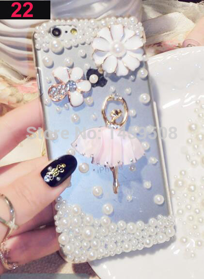 For Huawei Honor 3C Play case Handmade Rhinestone Case Diamond Crystal peacock Cover Flower Leopard Phone case - intl