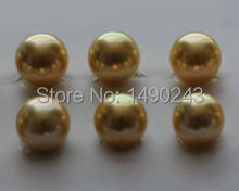 8 9 мм aaa круглый морской жемчуг из натурального золота akoya
