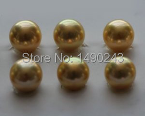 8-9mm AAA Runde Salzwasser Natürlichen Gold Akoya Perle