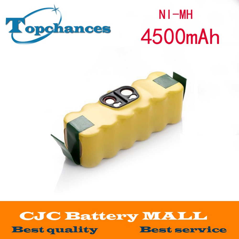 14.4V 4500mAh Ni-MH Battery for iRobot Roomba Vacuum Cleaner for 500 560 530 510 562 550 570 581 610 650 790 780 532 760 770 3800mah 14 4v xlife ni mh battery for irobot roomba 500 510 530 531 532 570 580 595 600 620 630 650 660 700 760 770 780 790 800