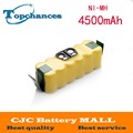 14.4V 4500mAh Ni-MH Battery for iRobot Roomba Vacuum Cleaner for 500 560 530 510 562 550 570 581 610 650 790 780 532 760 770