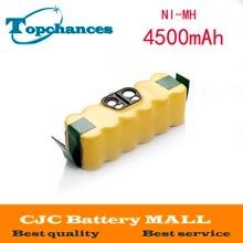 14.4 v 4500 mah ni-mh batería para irobot roomba aspiradora de 500 560 530 510 562 550 570 581 610 650 790 780 532 760 770