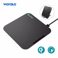 Wireless Fast Charger Qi Fast Note 5 Wireless Charger Quick Charge 3 0 For Samsung Galaxy
