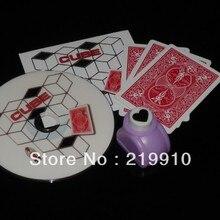 Куб Shoot Ogawa(DVD и реквизит)- карты для фокусов