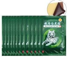 104 adet Vietnam beyaz kaplan balsamı ağrı yama vücut boyun masajı meridyenleri stres giderici artrit Capsicum alçı C161
