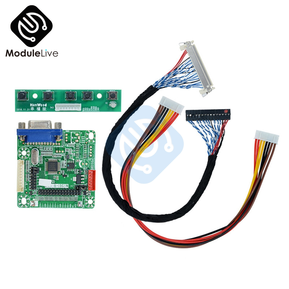 MT561-B GOLD-A7 Universal LVDS LCD Driver Controller Board Free Programming 5V for 8-42'' LCD Laptop Computer 1920*1200 игра настольная стиль жизни доббль цифры и формы
