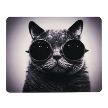 Mouse Pad Anti-slip PC Computer Gaming Natural Rubber Cute Cat Picture Mousepad Gamer Mouse Mat for PC Laptop  Mouse Universal