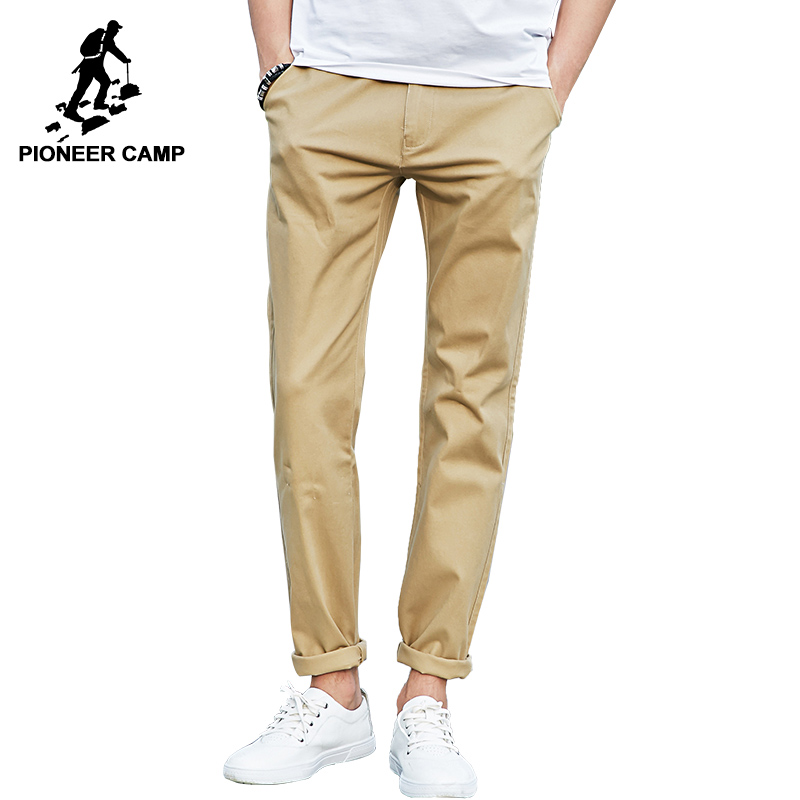Popular Elastic Khaki Pants-Buy Cheap Elastic Khaki Pants lots ...