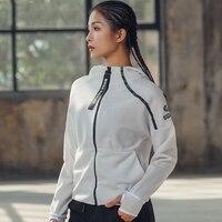 Autumn Sport Women Fitness Tops High Neck Hooded Long Sleeve Anti Slip Running Jogging Yoga Shirt Fitness Jacket Coat Clothing