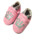Genuine Leather Baby Moccasins 2015 Brand Baby Shoes Cute Crown Pattern Shoes Baby Girl Walkers Chaussure Petite sneakers