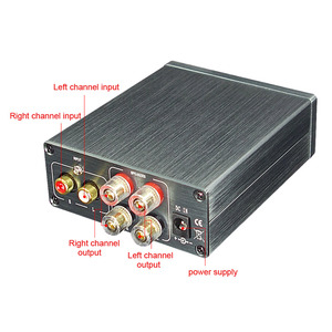 Image 5 - AIYIMA TDA7498E Digital Amplifier 160WX2 Stereo Sound Amplifier 2.0 Power Amplificador Low Distortion Speaker Home Theater DIY