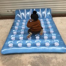 Giant Children's Summer beach Inflatable toy kid's outdoor toy swimming ring Adult Child pool Sea Toy Sunbathe bed floating mat big size inflatable swimming pool kit tool floating plate outdoor toy sleeping pad backrest enjoy novelty item adult children