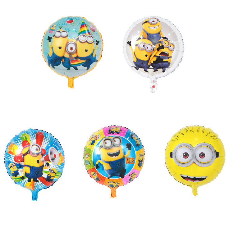 Loyal 18inches Round Birthday Foil Balloons Inflatable Toys Globos Birthday Party Decorations Kids Helium Balloon Event Party Supplies High Quality And Inexpensive Home & Garden Festive & Party Supplies