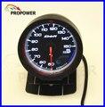 """2.5 """"60 MM DF Avance CR Gauge Meter Calibrador del Temp del Aceite C Grado Rostro Negro Con Sensor/AUTO CALIBRE"""